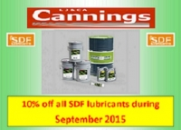 10% OFF all SDF lubricants.